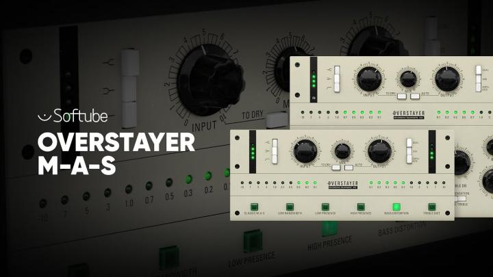 Softube Releases First Overstayer Plug-In