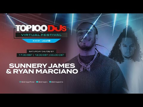 Sunnery James & Ryan Maeciano live for the #Top100DJs Virtual Festival, in aid of Unicef