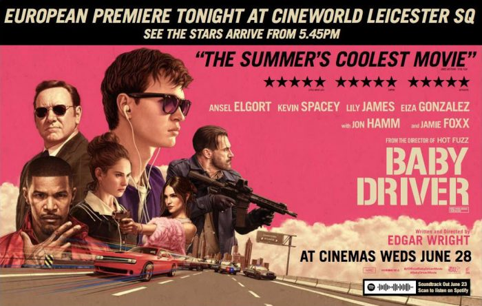 Inspiration 1 Baby Driver movie poster (US)