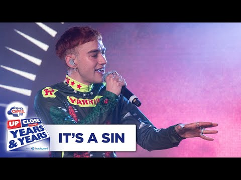 Years & Years – It's A Sin | Live At Capital Up Close | Capital