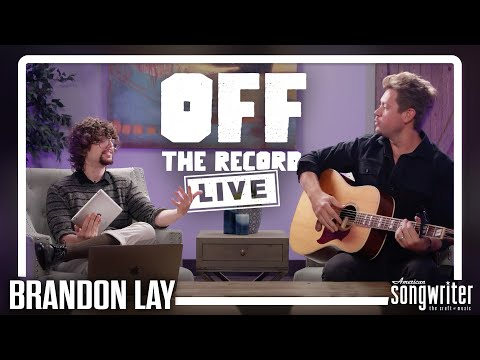 Brandon Lay LIVE Acoustic Performance and Interview | Off The Record LIVE