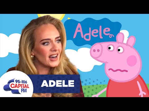 Peppa Pig Confronts Adele Over Her Rejecting Collab Rumours 🐷   Capital