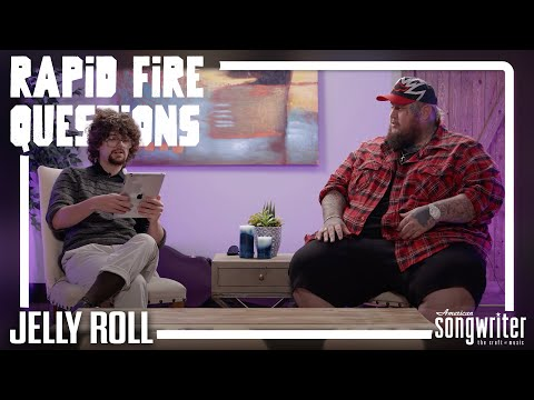 Rapid Fire Questions with Jelly Roll | Off The Record LIVE