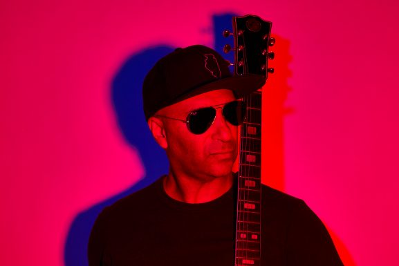 Tom Morello recorded almost all of the guitars on his upcoming album using his iPhone